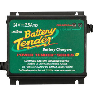 Battery Charger Battery Tender Plus Waterproof 24v 2 5 Amp 4 Step Char