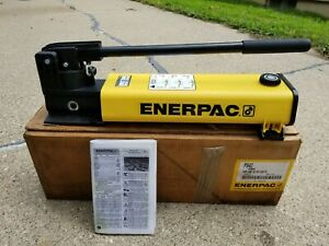 Enerpac P 842 Hydraulic Hand Pump Double Acting Two Speed 10 000 Psi