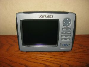 Lowrance HDS 7 Gen 1 Insight with gimbal knobs & screen cover