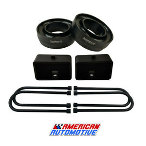 98 07 Ford Ranger Lift Kit 2wd 3 Front Spring Spacers 3 Rear Blocks