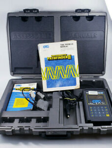 Otc Monitor 4000e Diagnostic System Scan Tool Case Manuals Extras