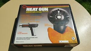 Milwaukee Heat Gun Model 2000d Tested Good Working Condition With Attachments