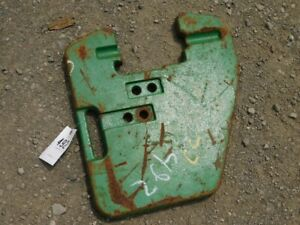 John Deere 7000 8000 Tractor Series Front Suitcase Weight Tag 492