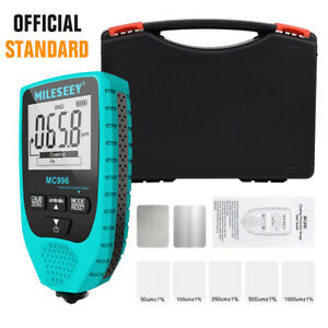 Lcd 0 To 1500um Auto Car Thickness Gauge Meter Paint Coating Thickness Gauge