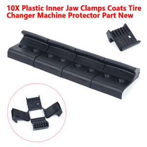 10x Motorcycle Tire Claw Sleeve Set Plastic Fixture Tires Changer Wheel Balancer
