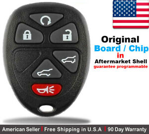 1x Oem Replacement Keyless Entry Remote Control Key Fob For Gmc Chevy Cadillac