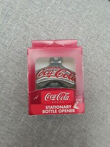 Coca-Cola Wall Mount Bottle Opener Star X Made in Germany NIB