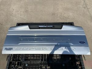 2017 2018 2019 Ford F250 F350 F450 Platinum Tailgate W Step Ignot Silver