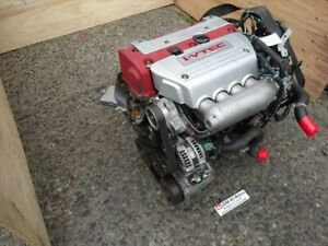 2004 Honda Accord Euro R K20a Engine Lsd Transmission Acura Tsx Red Top Jdm