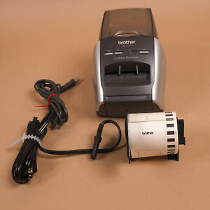 Brother Ql 570 High Resolution Thermal Label Printer W Cables Labels