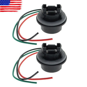 Turn Signal Light Socket Harness Wire Plug Connector Lamp Pigtail For Chevrolet