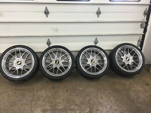 Bbs Rs708 Rs2 5x120 20 Et22 W Nitto Nt555 G2 Tires With Great Tread