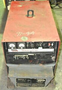 Lincoln Idealarc Dc 600 Dc Arc Welder 3ph 230 460v 56 5 113a In 44v 600a Out