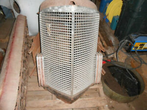 1938 Cadillac 65 Grill And Radiator Cowl Lower Grill Pan And Side Panels