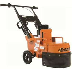 General Sg12e Single Head Concrete Floor Grinder Attachments Sold Separately