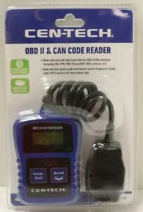 New Cen Tech 64981 Obdii Can Code Reader