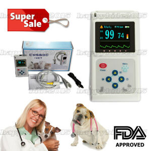 Veterinary Handheld 1 8 tft Oximeter oxymeter Spo2 Monitor animals