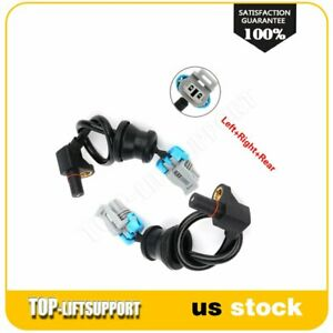 Pair 2 Rear Left And Right Abs Wheel Sensor For Chevrolet Equinox Fits 2005 2006