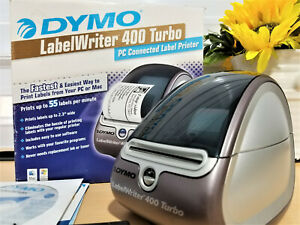 Nice Dymo Labelwriter 400 Turbo Pc Mac Connected Thermal Label Printer 69111
