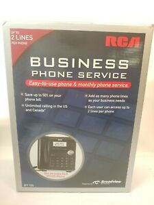 New Rca Ip110s Business Class Voip Telephone 2 line Sz