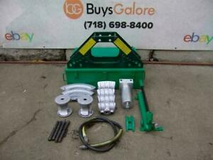 Greenlee 777 Bender 1 1 4 To 4 Inch Rigid Pipe Works Fine 2 28 1