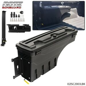Left Driver Side Truck Bed Storage Box Toolbox For Toyota Tundra 2007 2020 Bed