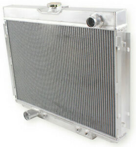 For 1967 1970 Ford Mustang Falcon Fairlane V8 351cu Aluminum 3 Row Radiator