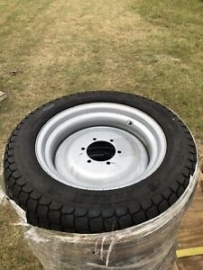 New Lsw305 521 Nhs Soft Turf 6 Ply On Fixed Steel Wheel