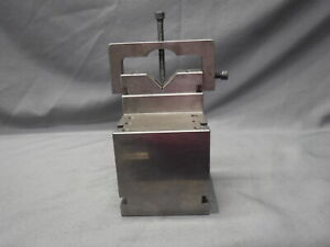Machinist Tool Die Maker V block Precision Grinding Unmarked 5x4x4