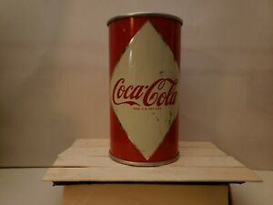 Coca Cola Diamond Soda Can Flat Top