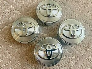 4 Pcs Toyota Wheel Center Hub Cap Chorme 62mm Fits Toyota Avalon Camry