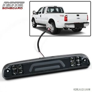 For Ford Super Duty Smoked Third 3rd Brake Light Cargo Lamp 3d Led Bar 99 16