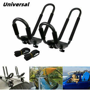 Universal Car Roof Rack J bar Rack Kayak Boat Canoe Truck Suv Top Mount Carrier