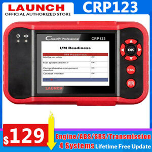 Launch Automotive Obd2 Scanner Diagnostic Abs Srs Tpms Epb Oil Reset Code Reader