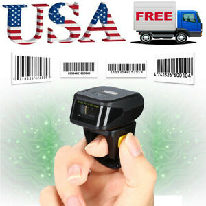 Eyoyo Wireless Bluetooth Ring Scanner 1d Laser Bar Code Reader For Ios Android