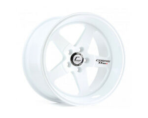 Cosmis Racing Xt 005r 18x9 25mm 5x120 White Rim Wheel