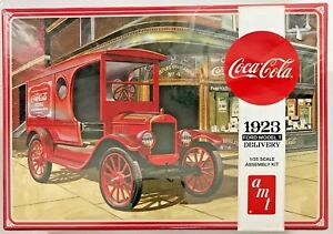 AMT Coca-Cola 1923 Ford Model T Delivery Plastic Model Kit #AMT102412 1:25 Scale