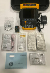Fluke 225c Scopemeter Oscilloscope With Bushealth Scope Meter 225c