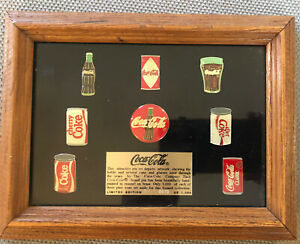 Coca Cola Pin Set ~Limited Edition *RARE (VERY LOW EDITION NUMBER 0070 of 1 000)