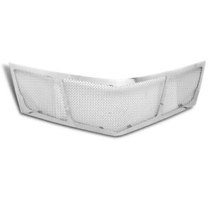 2010 2011 2012 Cadillac Srx Main Upper Mesh Grille Stainless Steel Grill Chrome
