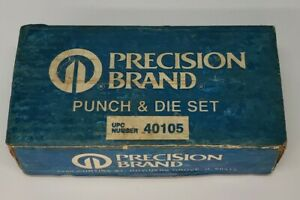 Precision Brand 1 8 To 3 4 Inch Diameter Shim Punch And Die Set 40105