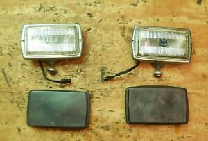 Jeep Grand Wagoneer Fsj 76 91 Marchal Fog Light Lamp Set With Cover