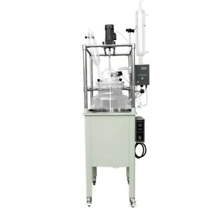100l Lab Jacketed Single Layer Glass Reactor Withhigh Borosilicate Gg3 3 Glass
