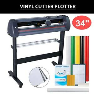 34 Vinyl Cutter Plotter Cutting Sign Maker Graphics Handicraft Wide Format