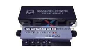 Top Quality Blood Cell Counter 5 Keys With Protective Case brand Bexco Free Ship