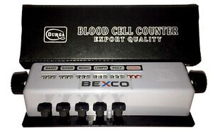 Blood Cell Counter 5 Keys In Protective Case By Brand Bexco Free Shipping