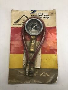 Vintage Compression Tester Accurate Instruments Emico New