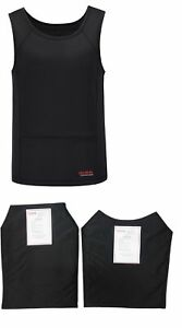 Tactical Scorpion 014 Level IIIA Concealable Soft Body Armor Shirt Size Choice $259.95