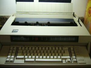 Ibm Wheelwriter 6 Automatic Typewriter 5441