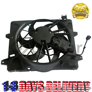 Radiator Cooling Fan For Ford Crown Victoria Lincoln Town Car Mercury W Module